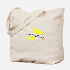 Cute Howler monkey Tote Bag