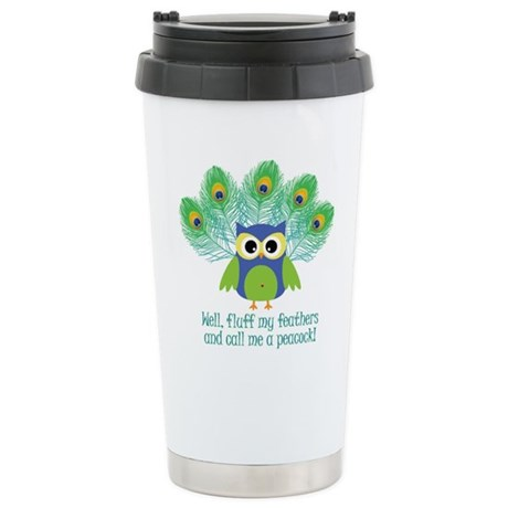 Fluff My Feathers Stainless Steel Travel Mug