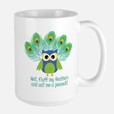 Fluff My Feathers Large Mug