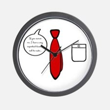 'Important Business Call' Wall Clock
