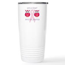 Save the Hooters Travel Mug