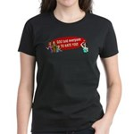 God Told Everyone to Hate You Women's Dark T-Shirt
