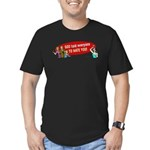 God Told Everyone to Hate You Men's Fitted T-Shirt