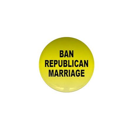 republican marriage... Mini Button