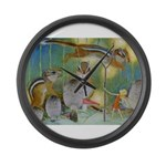 The Fairy Circus Large Wall Clock