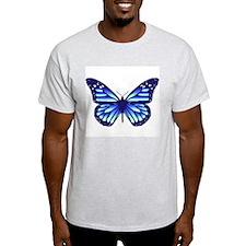 Water Wings Ash Grey T-Shirt