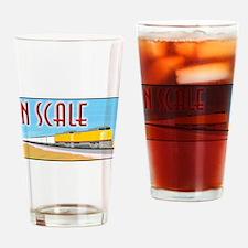 Unique Model trains Drinking Glass
