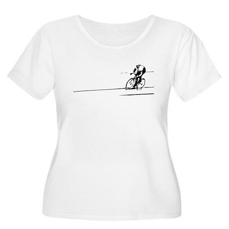Track star Women's Plus Size Scoop Neck T-Shirt