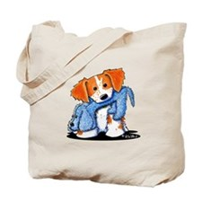Dog Eat Dog Brittany Tote Bag