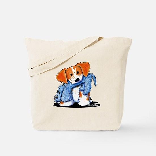 Dog Eat Dog Brittany Tote Bag