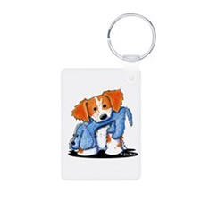 Dog Eat Dog Brittany Keychains