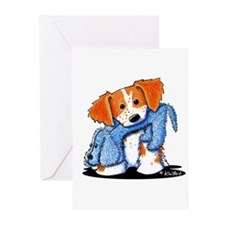Dog Eat Dog Brittany Greeting Cards (Pk of 20)