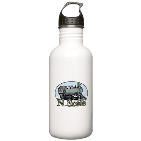 N Scale Steam Engine 1:160 Stainless Water Bottle