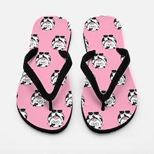 Cows Flip Flops (pink)