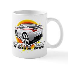 white hot Mug