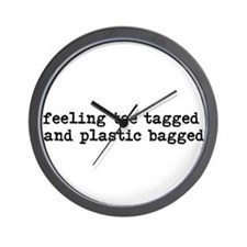 Feeling Toe Tagged Wall Clock
