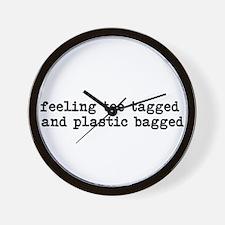 Feeling Toe Tagged Wall Clock