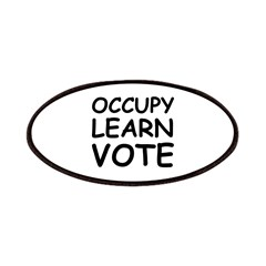 OCCUPY LEARN VOTE Patches