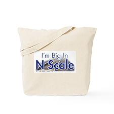 N Scale Tote Bag