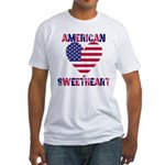 American Sweetheart Fitted T-Shirt