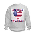 American Sweetheart Kids Sweatshirt