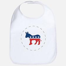 Democrat Logo Bib