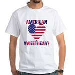 American Sweetheart White T-Shirt