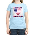 American Sweetheart Women's Pink T-Shirt