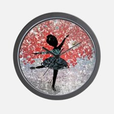 Snow flower - Wall Clock