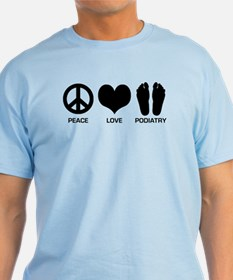 Peace Love Podiatry T-Shirt