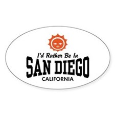 San Diego Decal