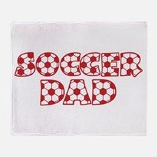 Soccer Dad Throw Blanket