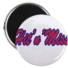 Hit'n'Miss Section Magnet