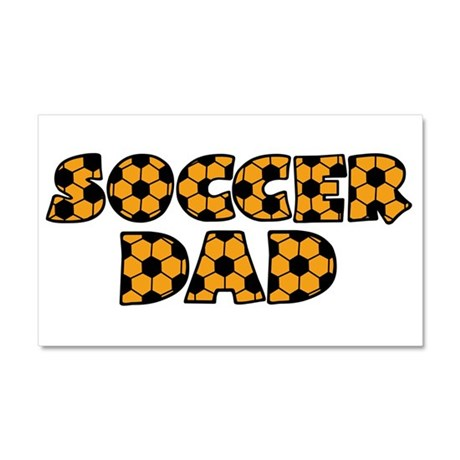 Soccer Dad Car Magnet 20 x 12