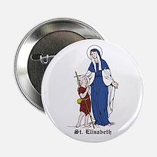 "St. Elizabeth 2.25"" Button (10 pack)"