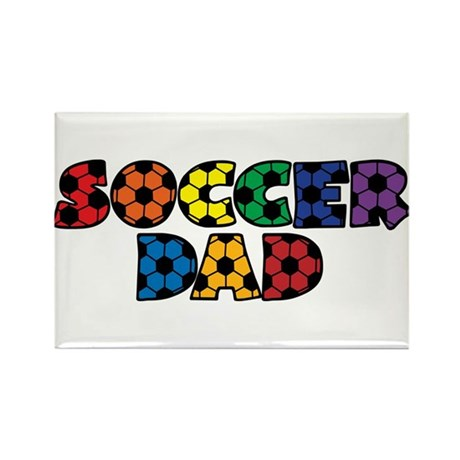 Soccer Dad Rectangle Magnet