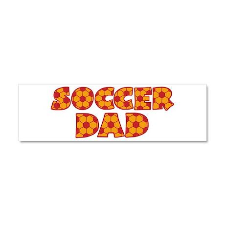 Soccer Dad Car Magnet 10 x 3