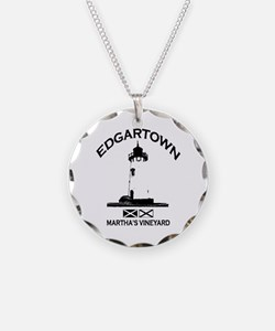 Edgartown MA - Lighthouse Design. Necklace