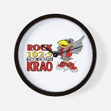 Rock 1025 - The Crow Wall Clock