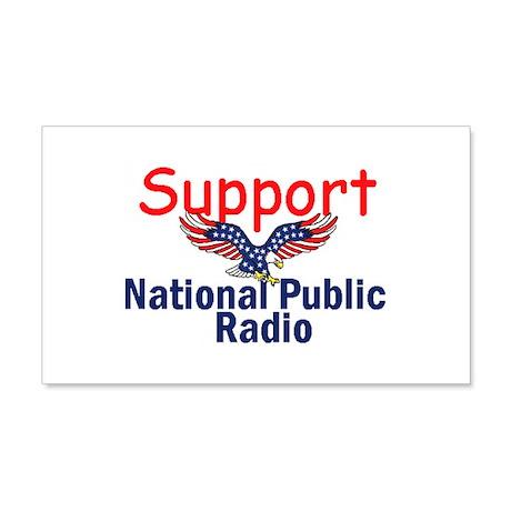 Support NPR 22x14 Wall Peel