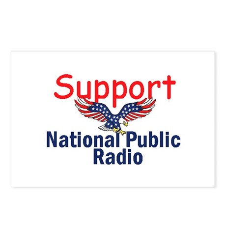 Support NPR Postcards (Package of 8)
