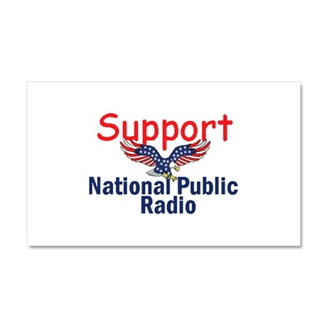 Support NPR Car Magnet 20 x 12