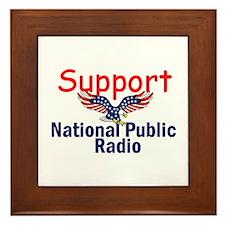 Support NPR Framed Tile