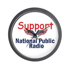 Support NPR Wall Clock