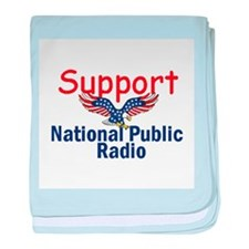 Support NPR baby blanket