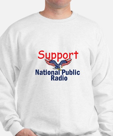 Support NPR Sweatshirt