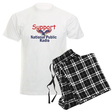 Support NPR Men's Light Pajamas