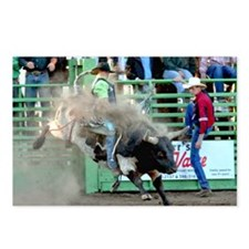 Bull Riding Postcards (Package of 8)