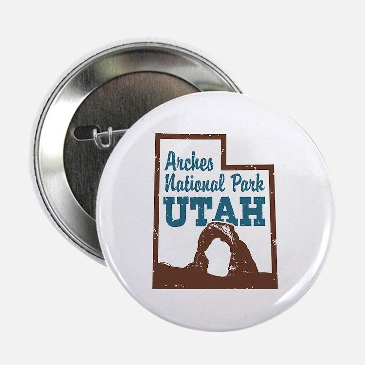 "Arches National Park Utah 2.25"" Button"
