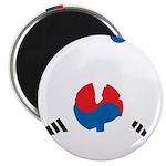 South Korea Soccer Magnet